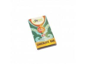 cokoladka mini se soli a spirulinou raw lifefood bio 15 g