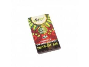cokoladka mini se zelenou kavou a guaranou raw lifefood bio 15 g