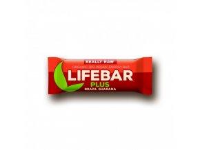 BIO Lifebar plus brazil a guarana tyčinka RAW 47g Lifefood