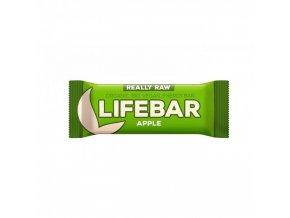 lifebar tycinka jablecna lifefood bio 47 g
