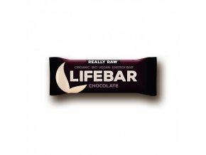 BIO Lifebar čokoládová tyčinka RAW 47g Lifefood