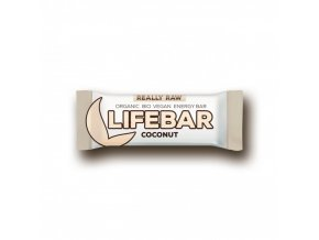 BIO Lifebar kokosová tyčinka RAW 47g Lifefood