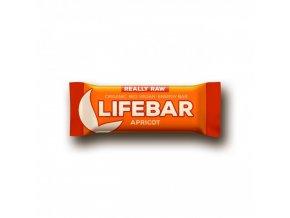 BIO Lifebar meruňková tyčinka RAW 47g Lifefood