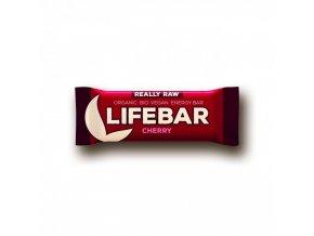 BIO Lifebar třešňová tyčinka RAW 47g Lifefood
