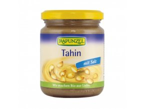 tahini se soli sezamova pasta rapunzel bio 250 g