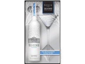 Vodka Belvedere Pure MARTINI 0,7l dárkové balení