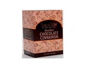 Čaj Tea of Life Rooibos - čokoláda, skořice sáčkovy 20 ks