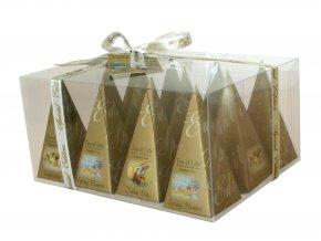 Čaj Tea of Life Prism collection - černé, zelené, bílé čaje sáčkové 12 ks
