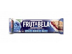 Fructal Frutabela Borůvka-žito v jogurtu - tyčinka 44g
