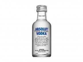 Absolut blue 0.05l mini