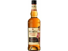 Rum Negrita spiced golden 0.7l