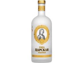 Vodka Carskaja 1l 40% zlatá