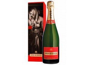 Champagne Cuvée Brut v dárkové krabičce 12% 0,75l Piper Heidsieck
