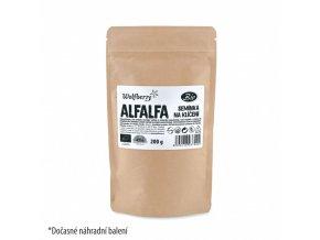 BIO Alfalfa Vojtěška - semínka na klíčení 200g Wolfberry