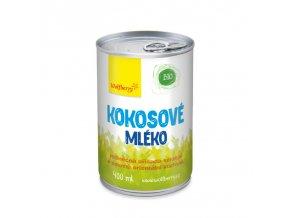 BIO Kokosové mléko 400ml Wolfberry