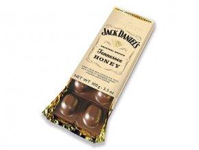 Mléčná čokoláda plněná Whisky Jack Daniels Honey 100g Goldkenn