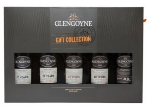 Whisky Glengoyne 10YO 12YO 15YO 18YO 21YO dárkové balení 5x0,2l