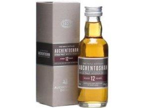 Whisky Auchentoshan 12YO Single Malt Scotch 40% 0,05l MINI