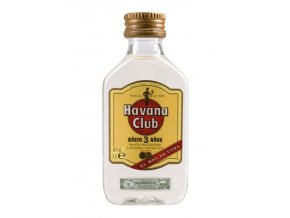 Havana Club Anejo 3YO 40% 0,05l MINI