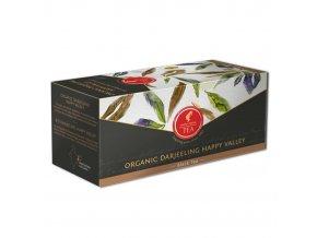 Prémiový černý čaj Organic Darjeeling Happy Valley 18x2,3g Julius Meinl