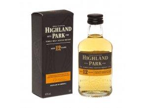 Whisky Highland Park 12YO 40% 0,05l MINI