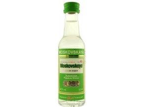 Vodka Moskovskaya 40% 0,04l MINI