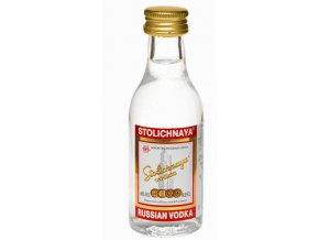 Vodka Stolichnaya 40% 0,05l MINI