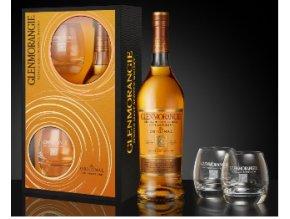 Glenmorangie Original 10YO 40% 0,7l + 2 sklenice