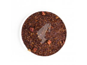 rooibos strawberry cream loose tea