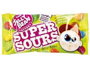 Jelly Bean Super Sours - želé fazolky super kyselé sáček 50g