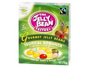Jelly Bean Tropical Bonanza - želé fazolky tropická směs krabička 75g