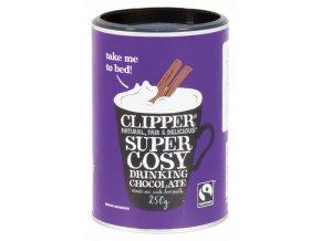 Clipper Super Cosy Drinking Chocolate - horká instatní čokoláda 250g