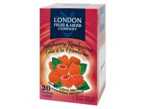 Čaj Raspberry Randezvous - malina 20 sáčků London fruit and herbs