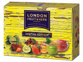 Čaj Special edition pack yellow - směs ovocných čajů žlutý box 30 sáčků London fruit and herbs