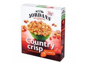Country Crisp Real Strawberries - Cereálie s jahodami 400g Jordans