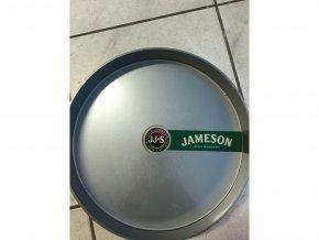 Barmanský tác Jameson šedý plastový
