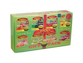 Čaj Impra Green Tea Gift Pack - set zelených čajů s aroma ovoce 80ks