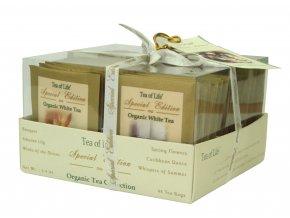 Čaj Tea of Life Organic Tea Collection Special Edition - Kolekce organických bílých a zelených čajů s aroma 48 ks