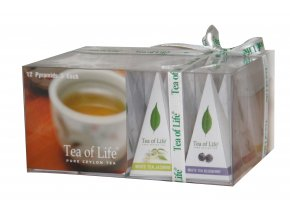 Čaj Tea of Life White Tea Collection - Kolekce bílých čajů s aroma 12 ks