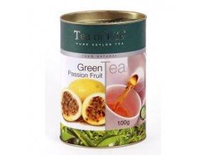 tea of life passion fruit green tea 100g