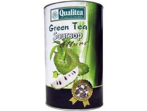 Zelený Čaj Soursoup Allure kaktusový sypaný sáčkový 100g v Qualitea