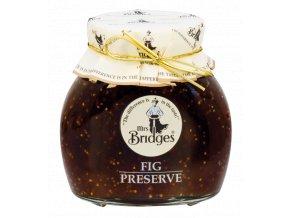 Fig Preserve Extra Jam - Výběrový džem z fíků 340g Mrs Bridges
