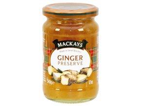 Ginger Preserve - Zázvorový džem 340g Mackays