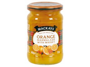 Orange Marmalade with Whisky - Pomerančová zavařenina s whisky 340g Mackays
