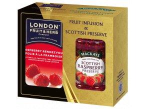 Gift Pack Raspberry - Dárková sada čaj Malina a Džem z malin