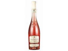 Zweigeltrebe rosé kabinet 2016 polosuché 0,75l Fresh Wine Vinařství U Kapličky