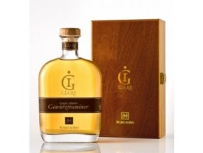 Grappa Marzadro Le Giare Gewurztraminer Harmony dárkové balení + 4 skleničky 0,7 L 41%