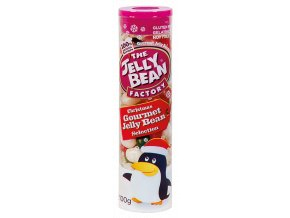 Jelly Bean Christmas Sellection - Želé fazolky vánoční mix tuba 100g