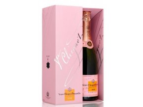 367 veuve clicquot rose in giftbox 75cl.