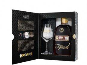 Olivers Exquisito 1995 v dárkové krabičce se skleničkou 40% 0,7L
